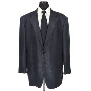 Gianluca Isaia 3 Button Silk Wool Sport Coat 46R